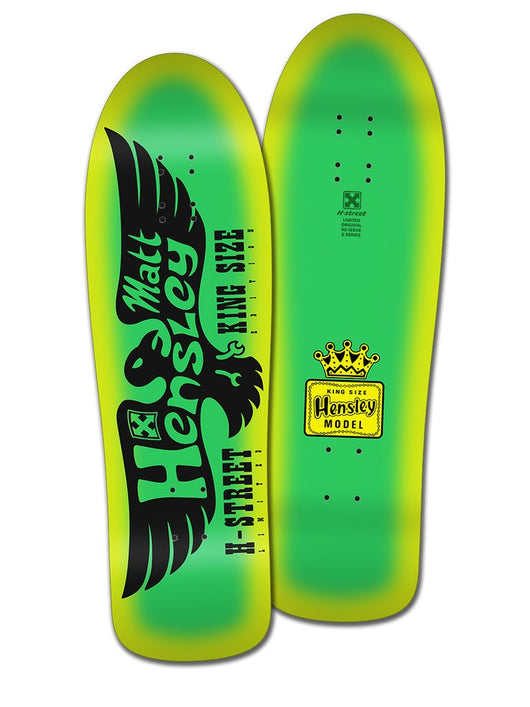 H-Street Matt Hensley King Size Limited Edition Eagle E Series Skateboard Deck