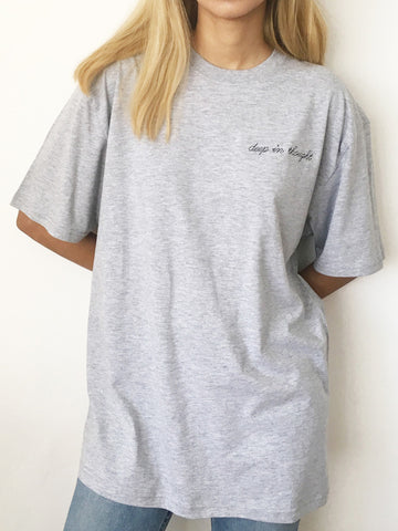 DEEP IN THOUGHT TEE