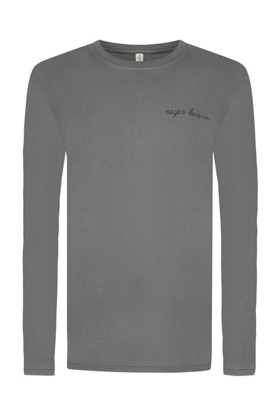 EAGER BEAVER LONG SLEEVE TEE