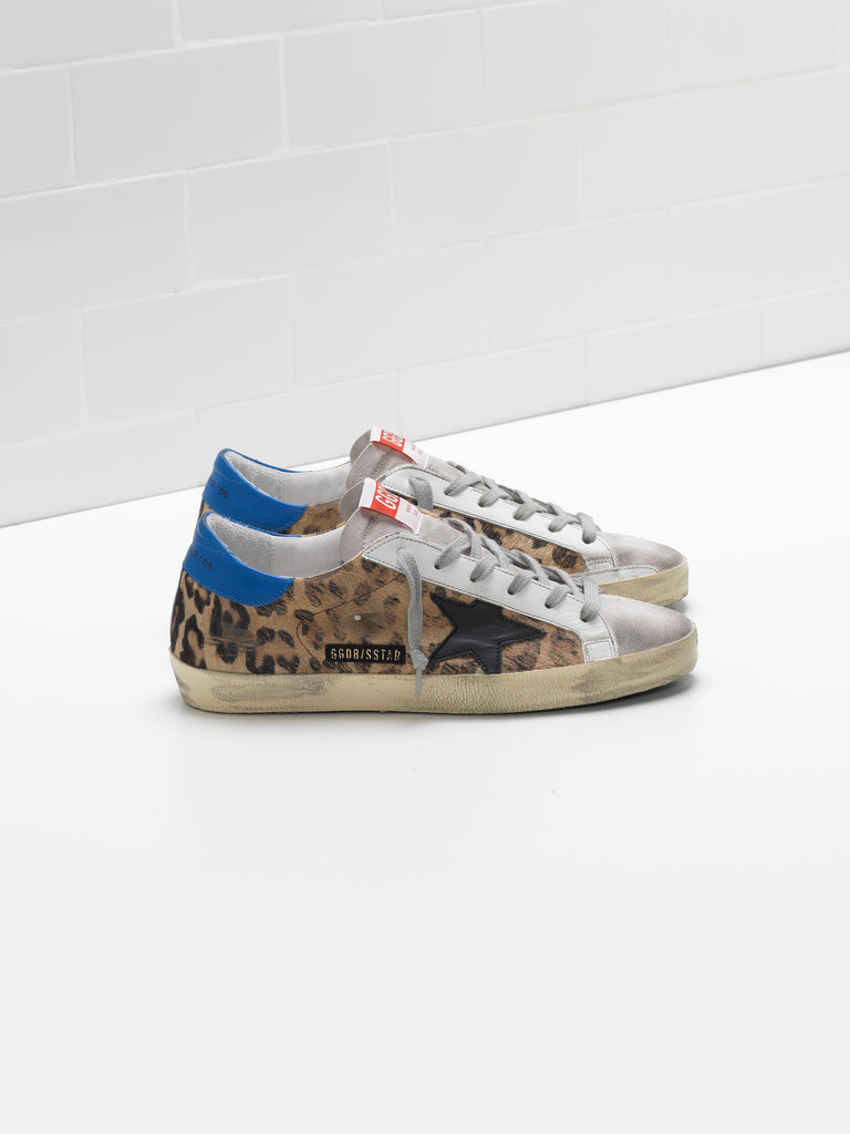 Superstar leopard sneakers