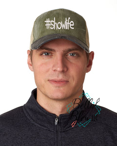 # Showlife Baseball Cap Hat Machine embroidery design