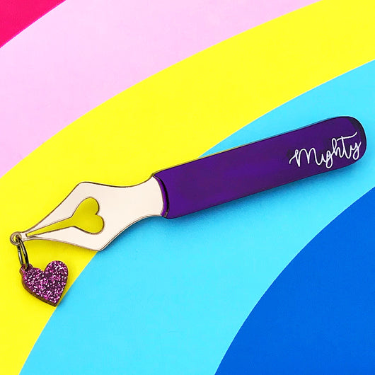 Mighty Pen Brooch