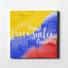 Venezuela Tricolor Canvas Art Canvas Art - Artiful Venezuelan Collection