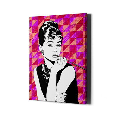 Audrey Hepburn - Iconic collection - Best Canvas Wall Art - Artiful.org