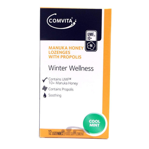 Simply Pharmacy Albany,Comvita Manuka Honey Lozenges Coolmint 12