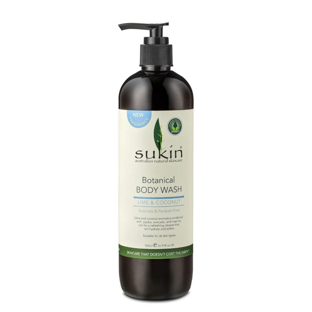 Simply Pharmacy Albany,SUKIN Lime & Coconut Body Wash 500ml