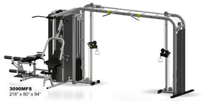 "Inflight Fitness Vanguard 4 Stack w/Cable Crossover ""Monkey Bar"" with/without Full Shrouds"