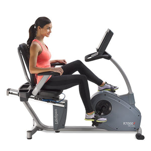 LifeSpan R7000i Pro-Series Commercial Recumbent Bike
