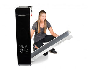 BodyCraft SpaceWalker Compact 4mph Folding Treadmill Black/White