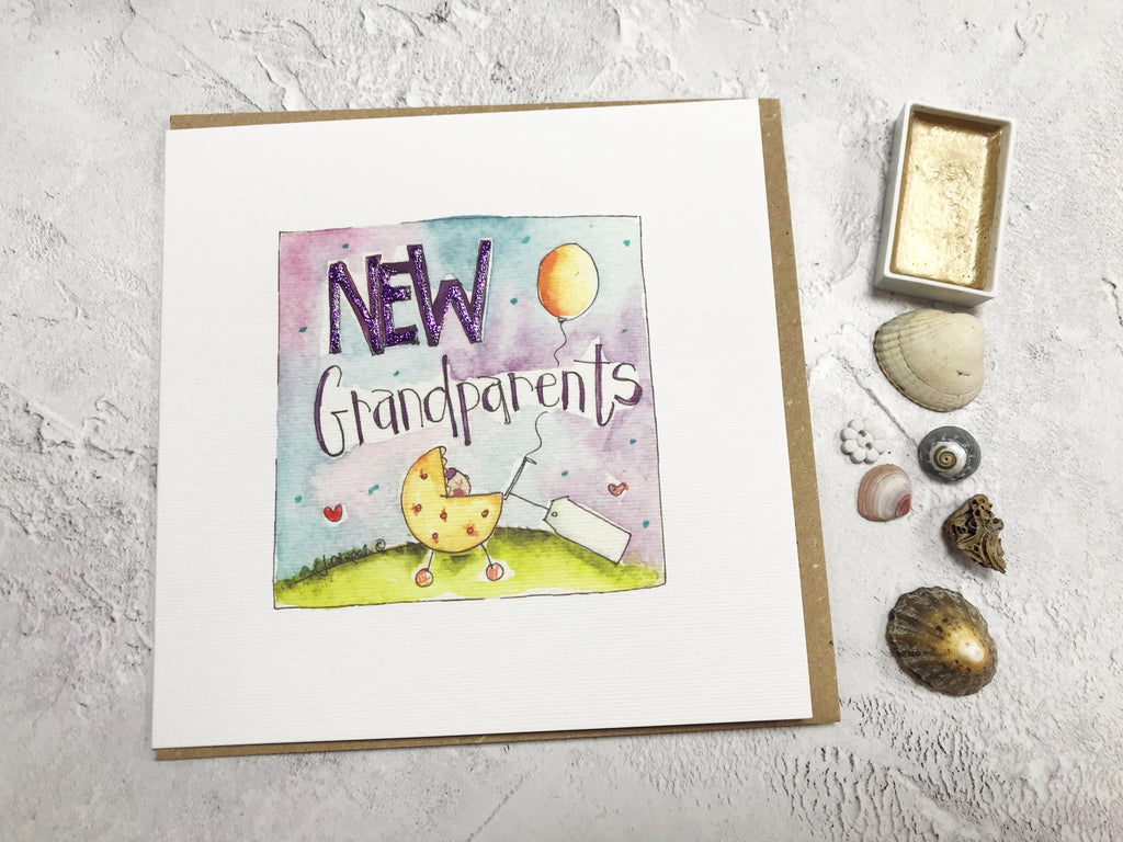 New Grandparents Card - Personalised