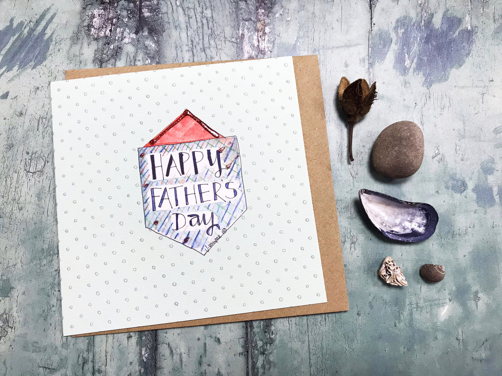 Happy Father's Day Card - Personalised