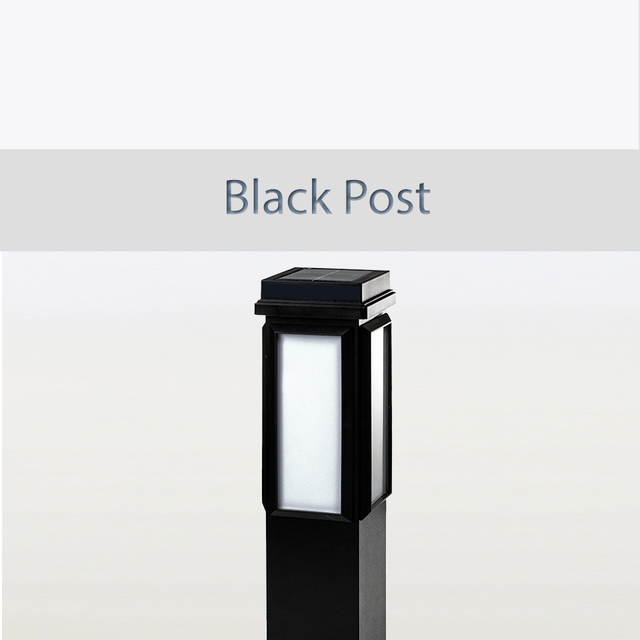 BrightLight Black Post