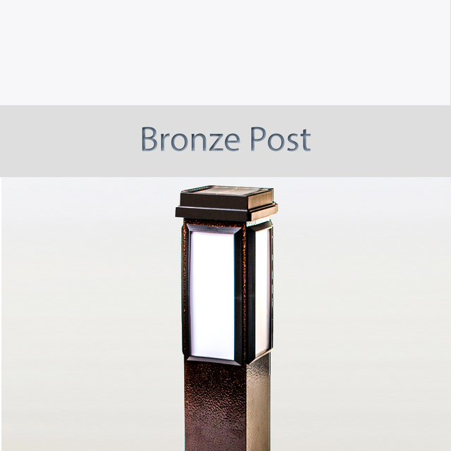 BrightLight Bronze Post