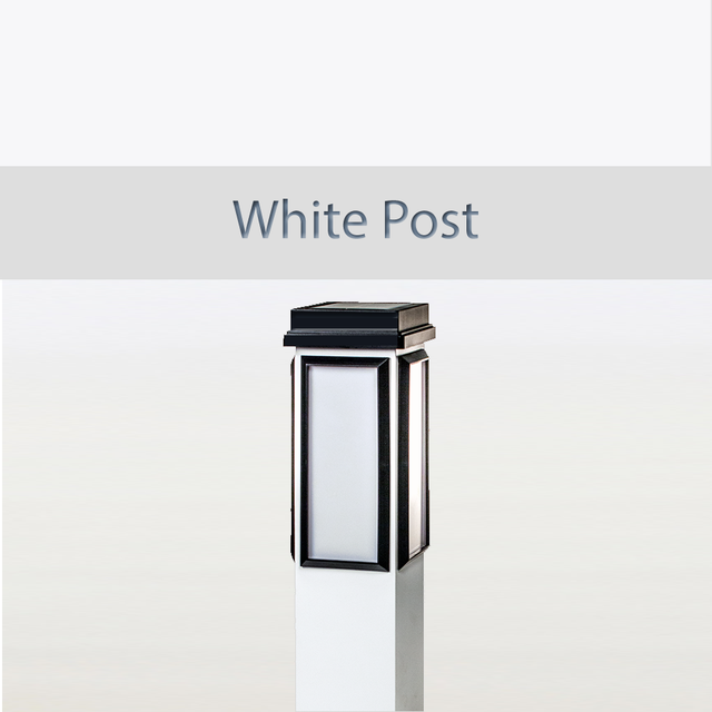 BrightLight White Post