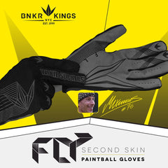 Fly Paintball Gloves - Black