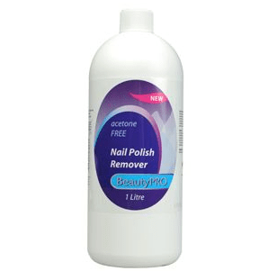 BeautyPRO Acetone Free Nail Polish Remover 1 L - 19.99