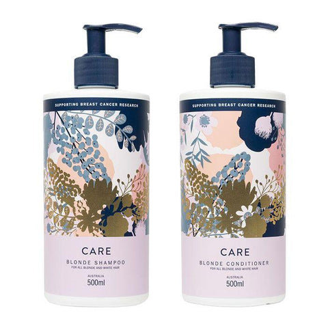 Nak Care Blonde Shampoo and Conditioner 500ml Duo Pack