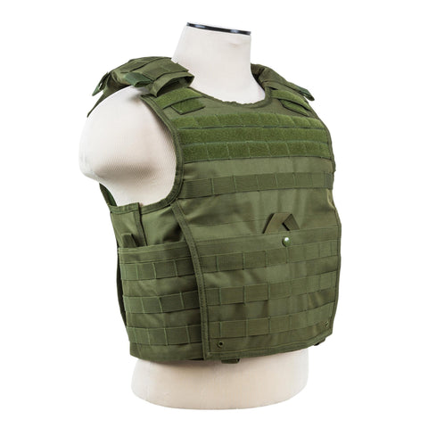 NcStar Clothing/Apparel Default Title Expert Plate Carrier Vest - Green