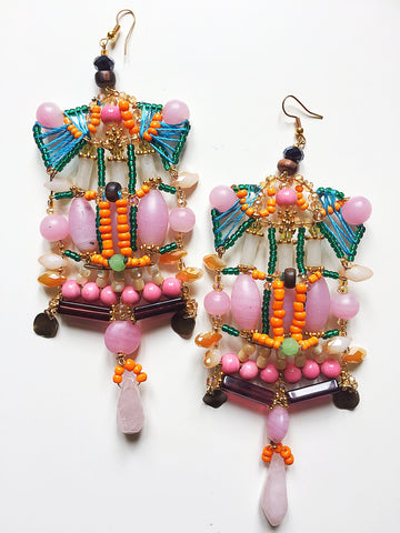 Rahma Statement Earrings