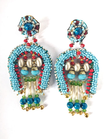 Loulou Beaded Earrings