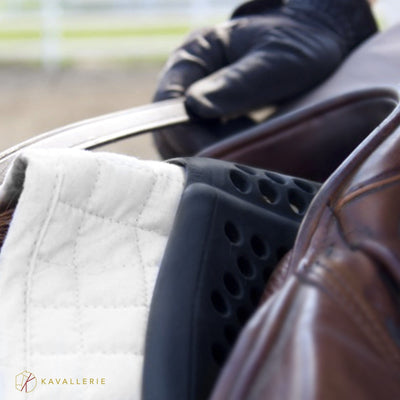 KAVALLERIE Equestrian Gear - Horse Saddle Pad-Anti-Slip Gel - Rear Riser