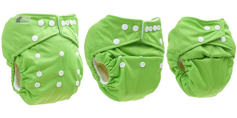 little lamb one size pocket nappy different sizes