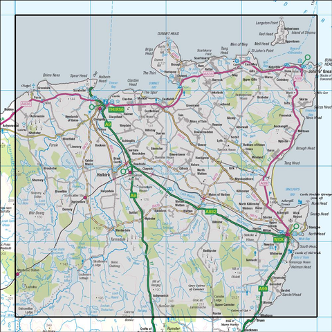 12 Thurso & Wick John O Groats - Anquet Maps