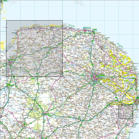 132 North West Norfolk Kings Lynn & Fakenham - Anquet Maps
