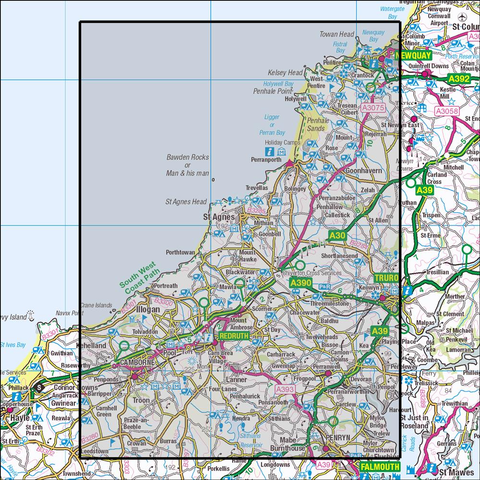 104 Redruth & St Agnes Historical Mapping - Anquet Maps