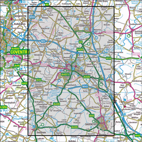 222 Rugby & Daventry Historical Mapping - Anquet Maps