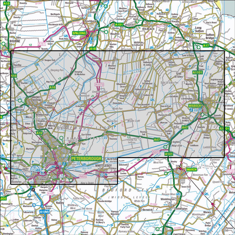 235 Wisbech & Peterborough North Historical Mapping