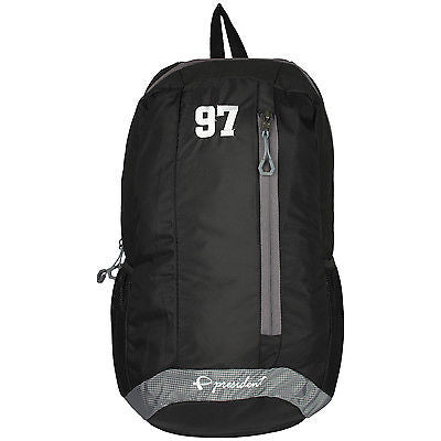 Quest Black Backpack / School Bag by President Bags - GottaGo.in