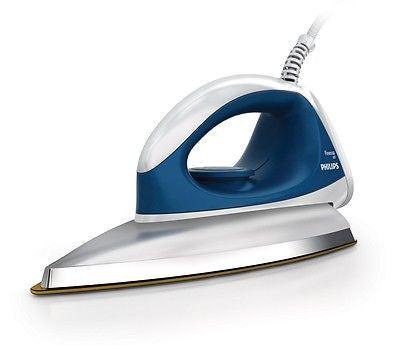 Philips Dry Iron GC103 750W Golden American Heritage Soleplate - GottaGo.in