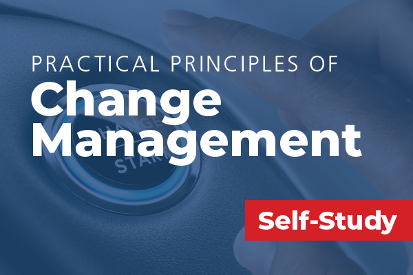 Practical Principles of Change Management