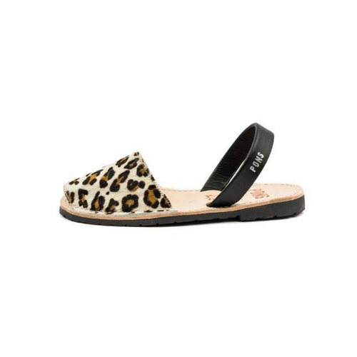Pons Avarcas Classic Style in Animal Print