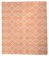 Kangri Cotton Rug-orange > Design # 1555 > 8' x 10'