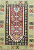 "Old Turkish Kilim Rug - K > Design # 1620 > 3'-3"" X 4'-10"""