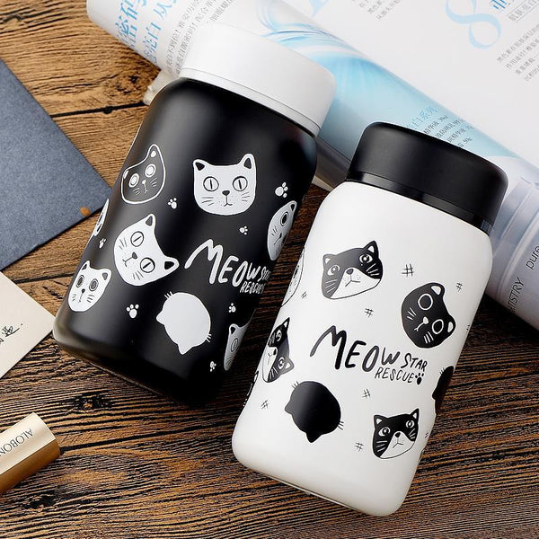 Chat J'adore thermos Chat noir 280 ml Thermos Chat MEOW