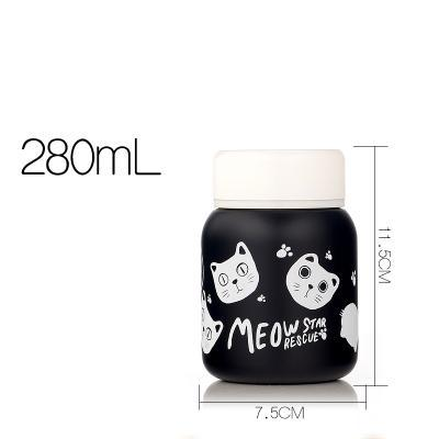 Chat J'adore thermos Chats blancs 280 ml Thermos Chat MEOW