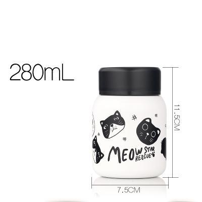 Chat J'adore thermos Chats noirs 280 ml Thermos Chat MEOW