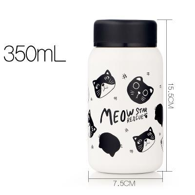 Chat J'adore thermos Chats noirs 350 ml Thermos Chat MEOW