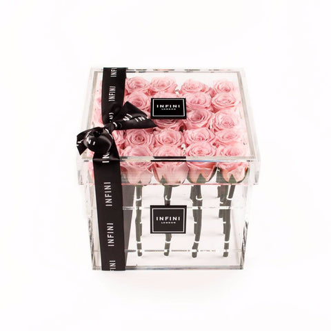 Diamond Luxe - Pink Roses - INFINI roses that last a year