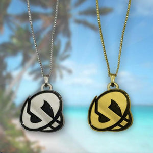 Team Skull Pendant Necklace