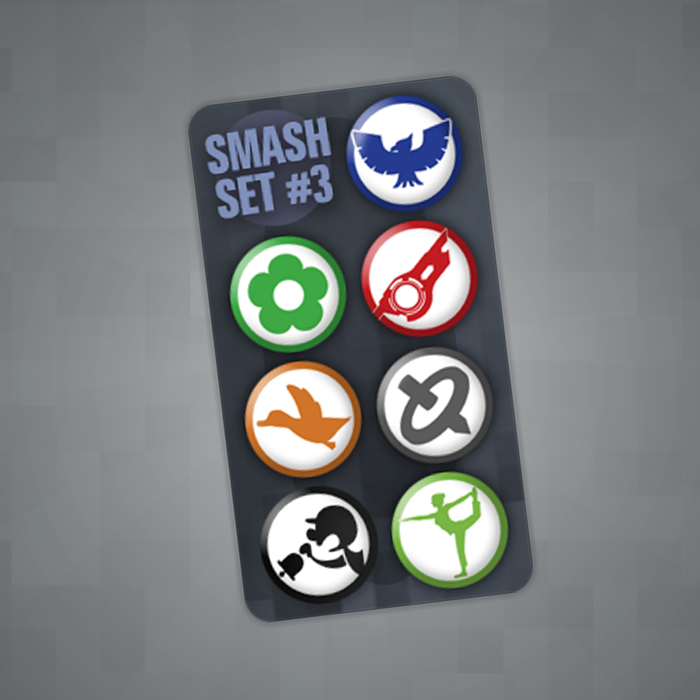 Smash Pin Set #3