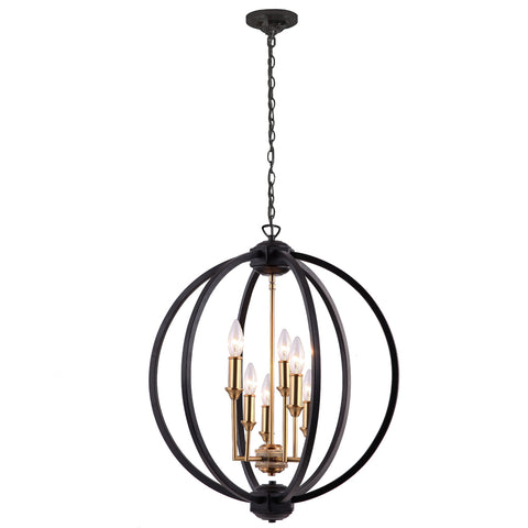 Karland Six Light Chandelier