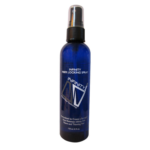 Infinity Fiber Locking Spray designed for Infinity Hair Fibers 4 oz