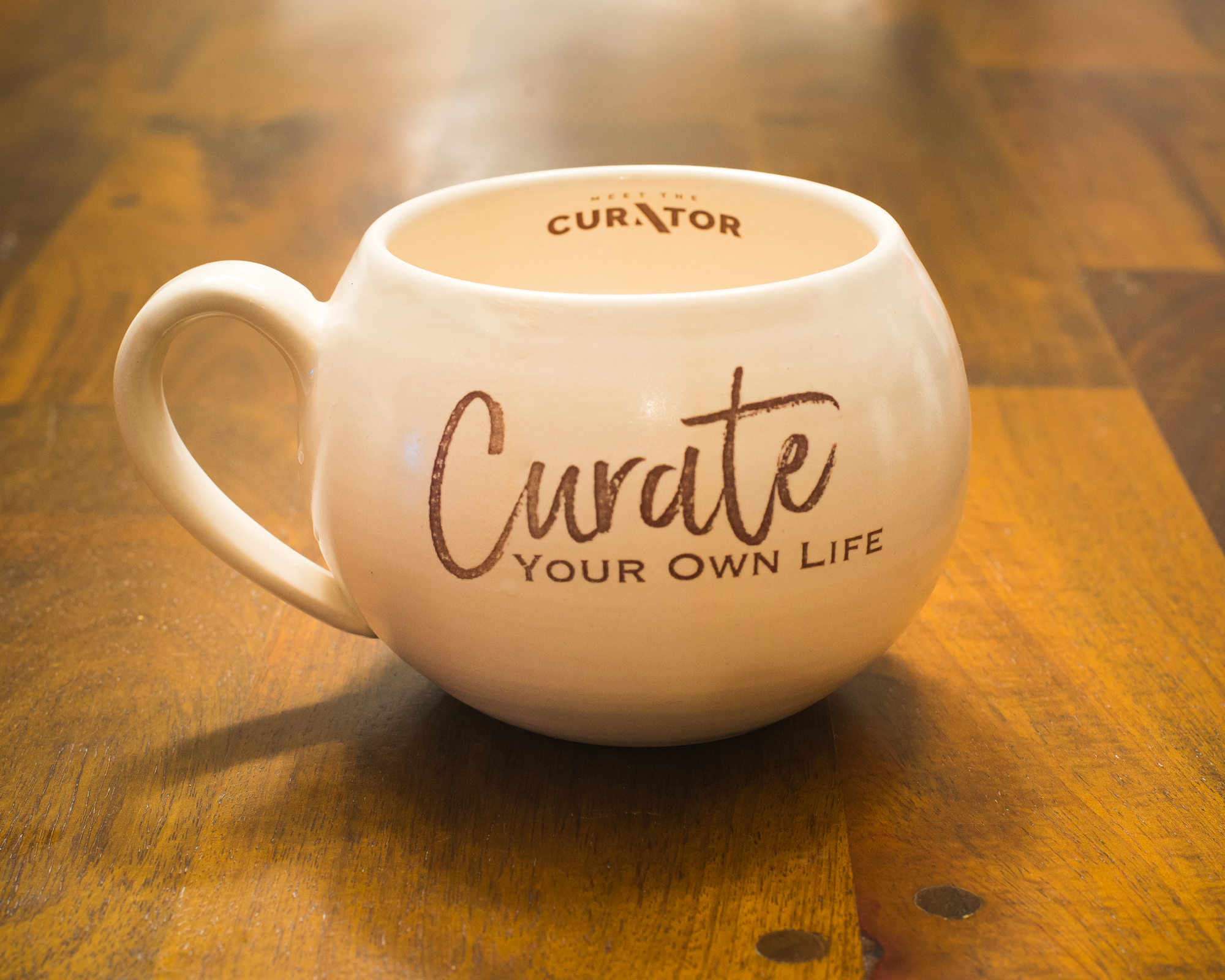 Curate Your Own Life Coffee Mug