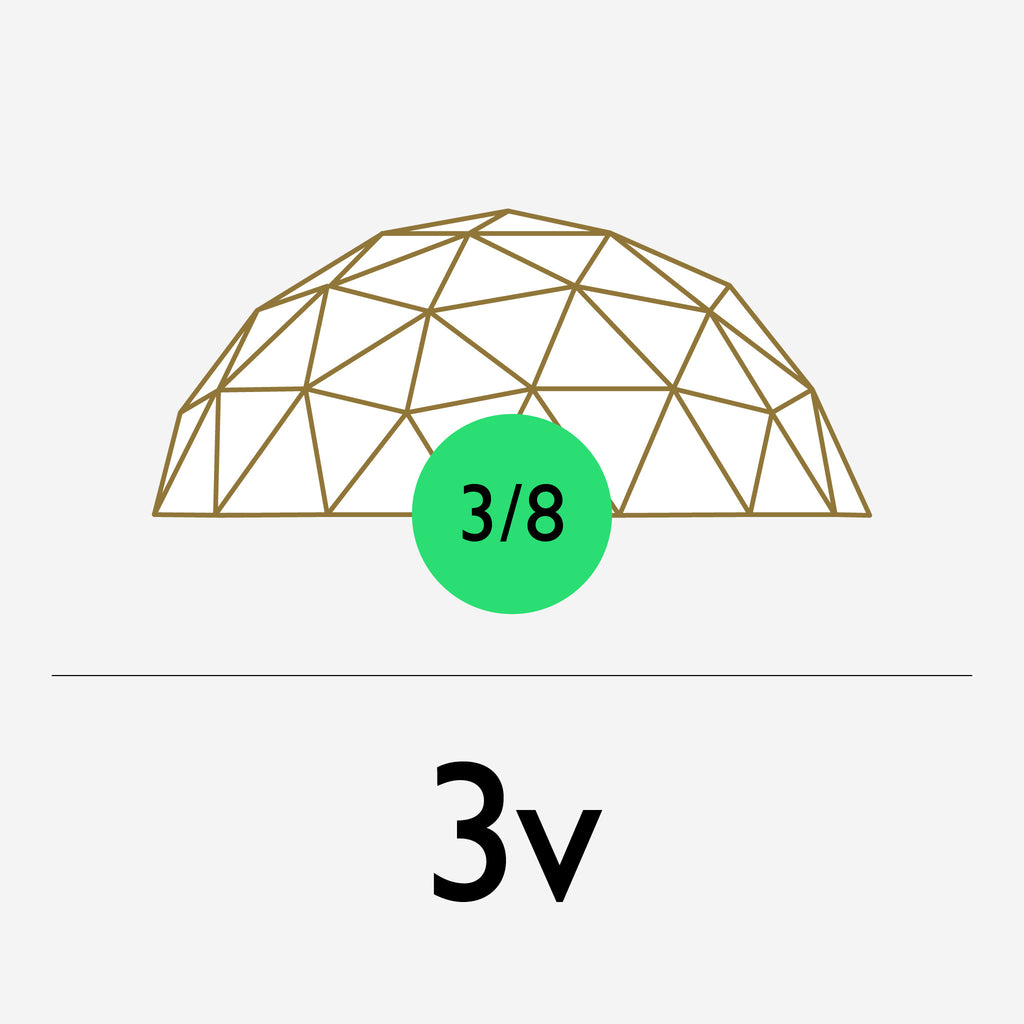 A Quick Collection Of Images Of Geodesic Domes: 3v Geodesic Dome Kit