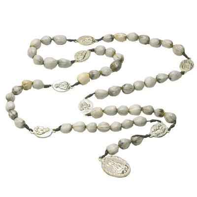 Rosary of the 7 Sorrows Job Tears Seeds Prayer Beads at Immaculee