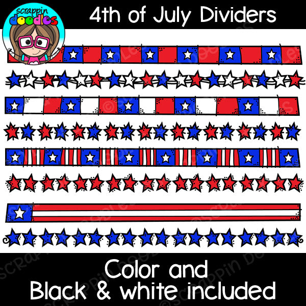4th of July USA Clip Art